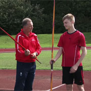 how to teach children to throw a javelin