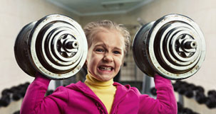 too young for weight training