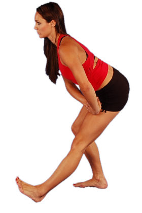 thigh stretching exercises  stretching  training  fitness