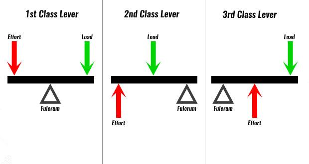 first second third class lever