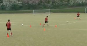 Football passing drills