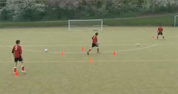 Football passing drills